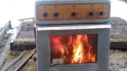 Самоделки из старой газовой плиты