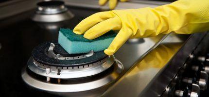 Очистка варочной поверхности