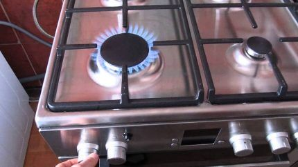 Поломка газовой плиты