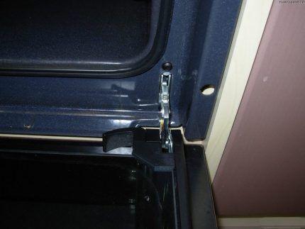 Кронштейны дверцы духовки