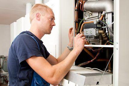 Процесс настройки газового клапана