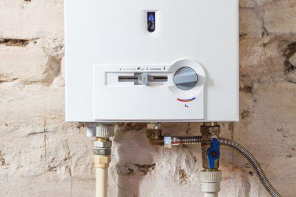 Устройства для настройки газовой колонки