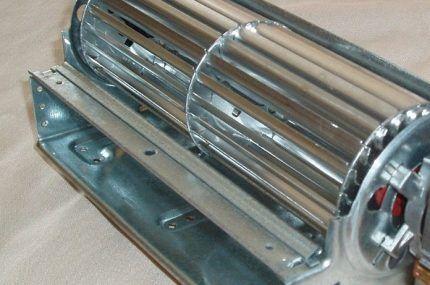 Внешний вид тангенциального вентилятора