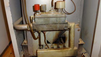 Обратная тяга в газовом котле