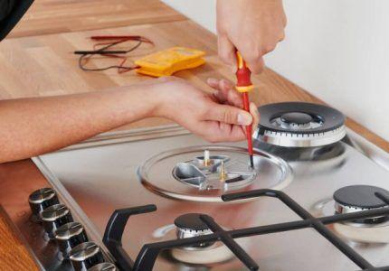 Демонтаж газовой горелки