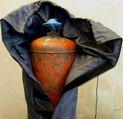 Термоодеяло для газового баллона