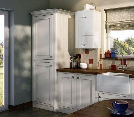 Новая колонка на кухне