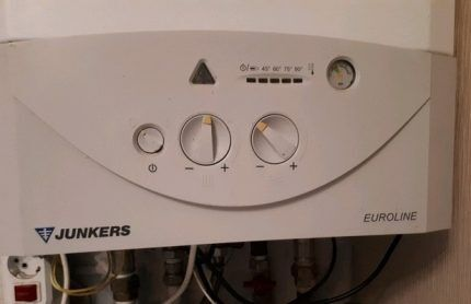 Газовый котёл Юнкерс