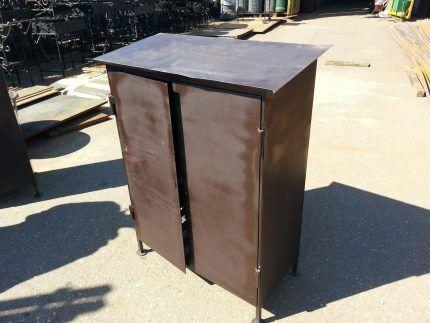 Шкаф для газовых баллонов выполненный самостоятельно