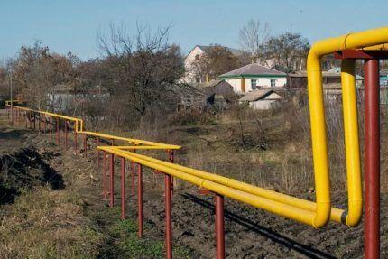 Наземная магистраль газоснабжения