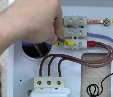 Подключение электрического отопительного котла