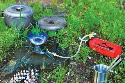 Регулировка пламени в газовой горелке