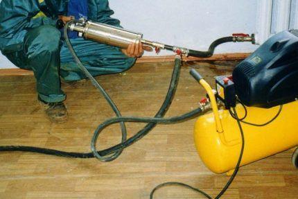 Гидропневмоимпульсная промывка отопления