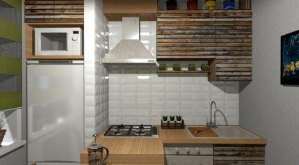 Теплоизоляция холодильника кафелем