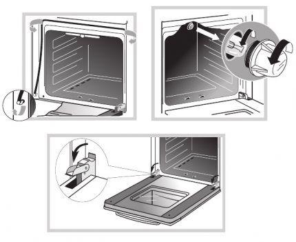 Мелкий ремонт плиты