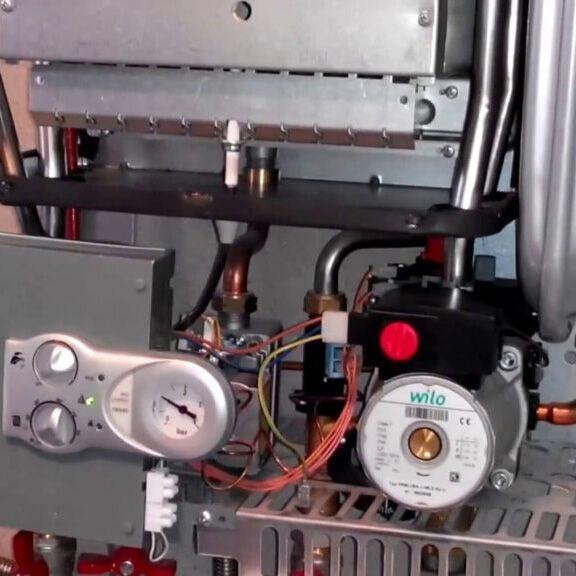 Ferroli котел как включить отопление