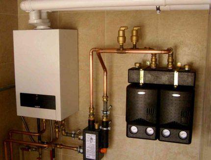 Двухконтурный котел для систем отопления