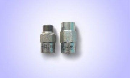 Термозапорный клапан с резьбовым соединением