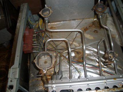 Газовая плита с автоподжигом