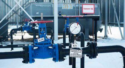Процесс смешивания газа