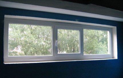 Окно в котельной