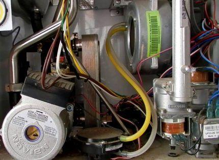 Электрические провода к датчикам