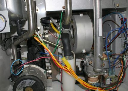 Вентилятор газового котла Навьен