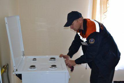 Проверка газоиспользующего оборудования
