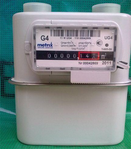 Газовый счетчик по типу конструкции UniSmart