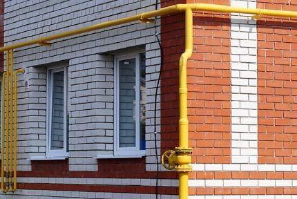 Газовая система многоэтажного дома