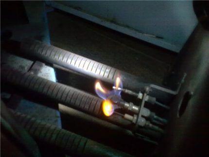 Запальная горелка котла
