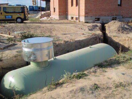 Газгольдер для автономного газоснабжения