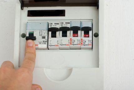 Электрический щиток квартиры