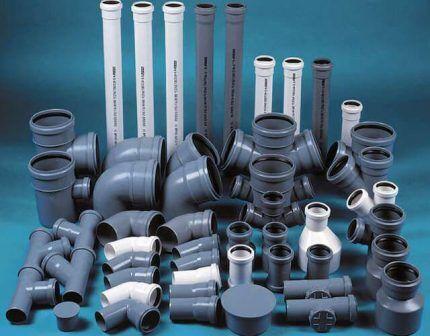 Фитинги для сборки пластиковых трубопроводов