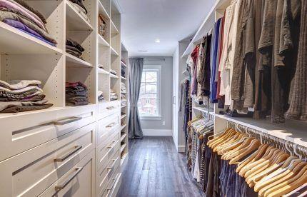 Обеспечение циркуляции воздуха в гардеробной