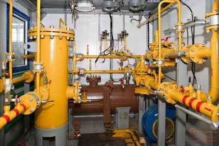 Газопроводная система производственного объекта