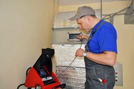 Обследование систем вентиляции