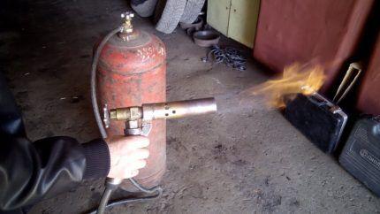 Пропановая газовая горелка