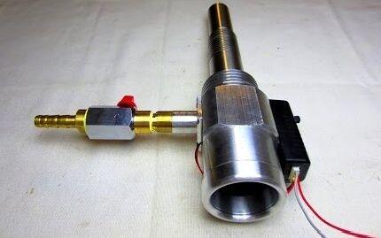Другая конструкция газовой горелки
