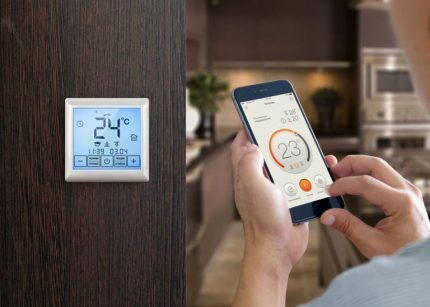 Настройка комфортной температуры в помещении