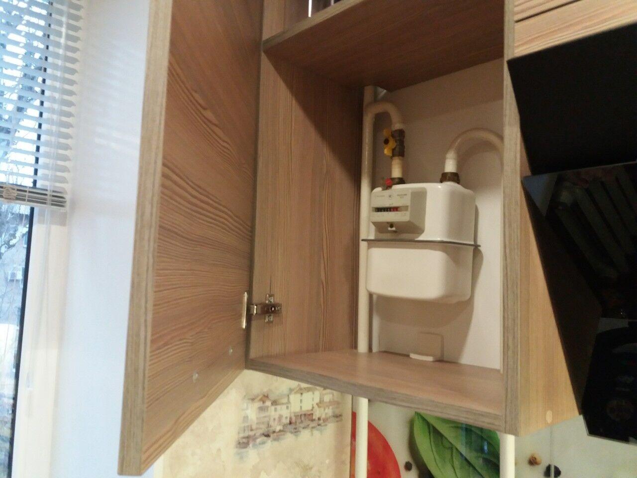 куда спрятать газовый счетчик на кухне фото расширение территории