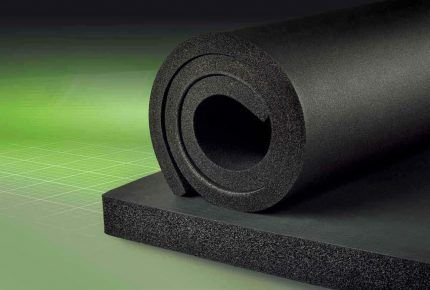 Вспененный синтетический каучук