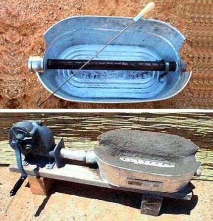 Изготовление горна из старой гусятницы
