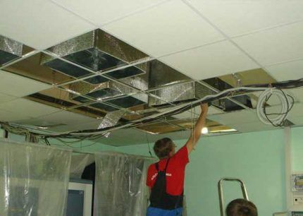 Сооружение вентяляционной системы