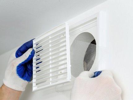 Необходимость восстановления вентиляции