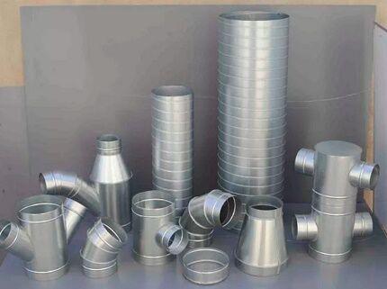 Элементы для сборки воздуховодов
