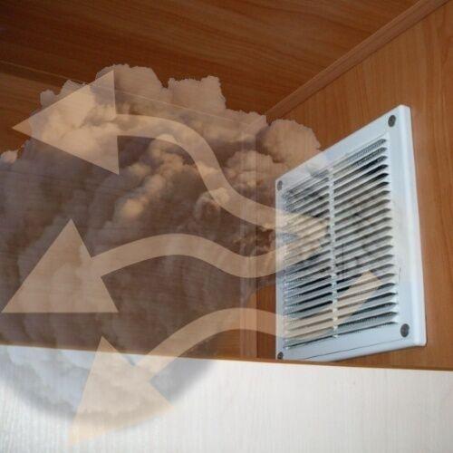 Отсутствие тяги в вентиляционном канале