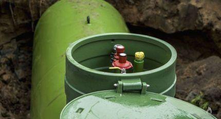 Особенности установки газгольдера