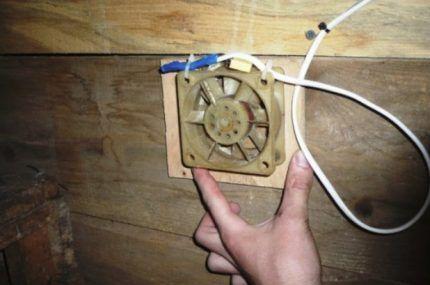 Простейшая механическая вентиляция