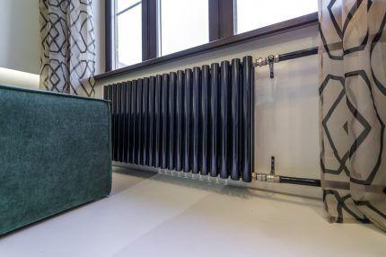 Трубчатый вид радиаторов